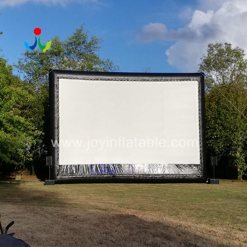 Giant Inflatable Screen for Outdoor Film Event