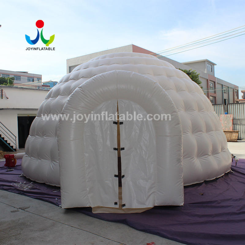 7 meter Inflatable Dome Structure With Tunnel Entrance