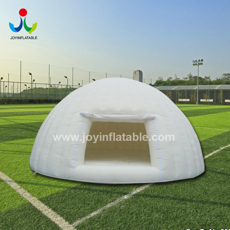 Inflatable Dome with inflatable Mat for the Outdoor Yoga