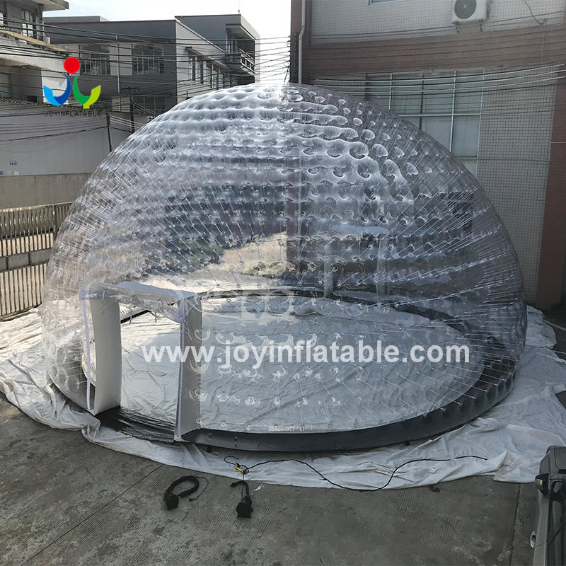 Dia 10 Meter Inflatable Bubble Type Dome Tent Without Ground Sheet