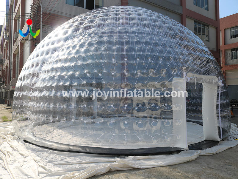 Dia 10 Meter Inflatable Bubble Type Dome Tent Without Ground Sheet Video