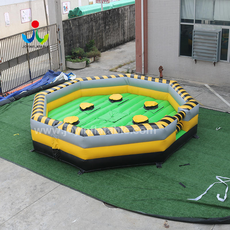 Wipeout Sweeper Game With Inflatable Meltdown Mat for Kids and Adult