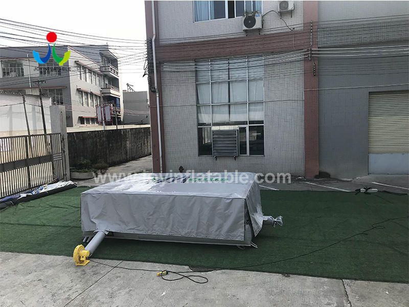 Gym Club Inflatable Airbag for Outdoor Action Trampiline Park Video