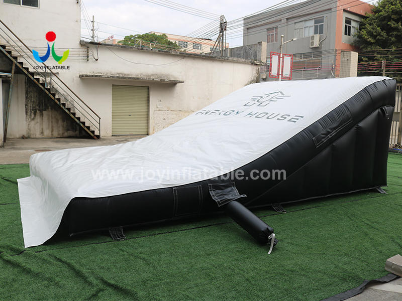 Inflatable Lander Air Bag A Safe Way To Practice Tricks Video