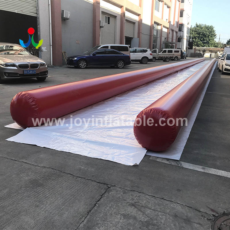 50M Outdoor Commercial Crazy Inflatable Soap Water City Slide
