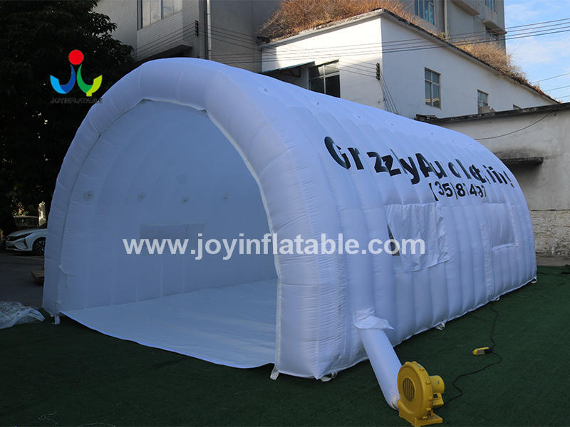 Customized Inflatable Tunnel Tent For Auto Detail Services