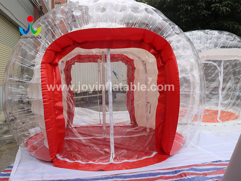 Airtight Inflatable Clear Dome Tent For Resort Video