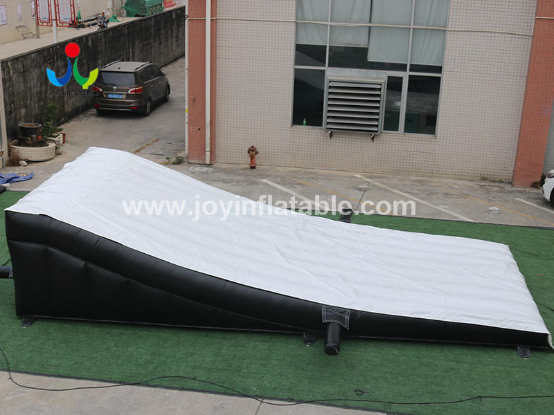 Inflatable Landing AirBag for Bike  Ski Jump Video