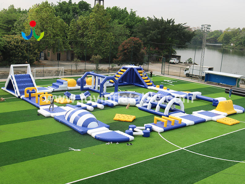 Giant Inflatable Trampoline Water Park Video