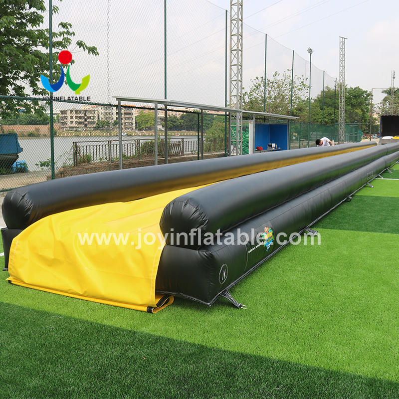 Commercial Level Inflatable Water Slider With Separate Swimming Pool