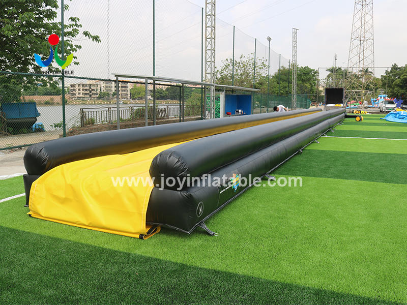 Commercial Level Inflatable Water Slider With Separate Swimming Pool Video