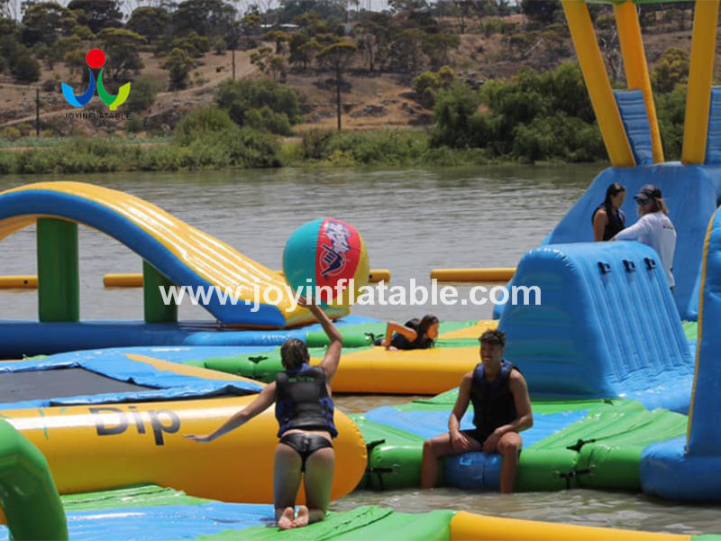 Inflatable Water Island For Outdoor Sea Water Sports Video 2