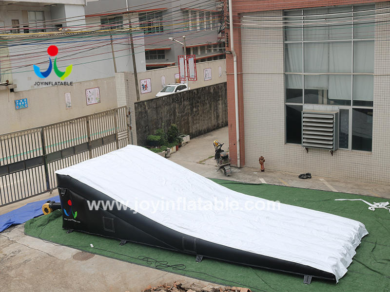 Mountain Bike Inflatable Airbag Ramps Landing