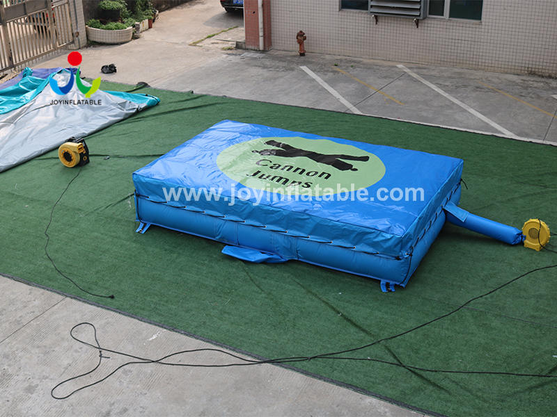 Inflatable Stunt Pillar Air Bag For High Jump Training Video