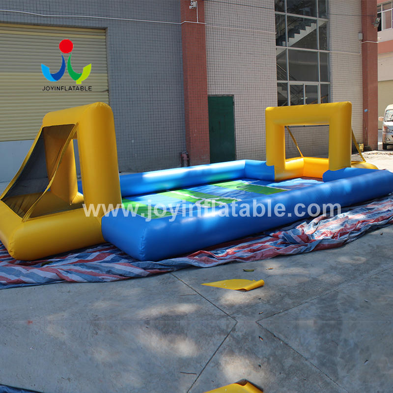 Outdoor Inflatable Football Playground Field for Water Soap Sport Event