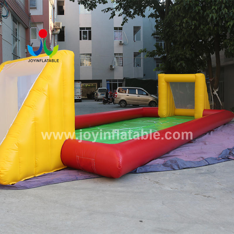 Inflatable Water Soap Soccer Filed