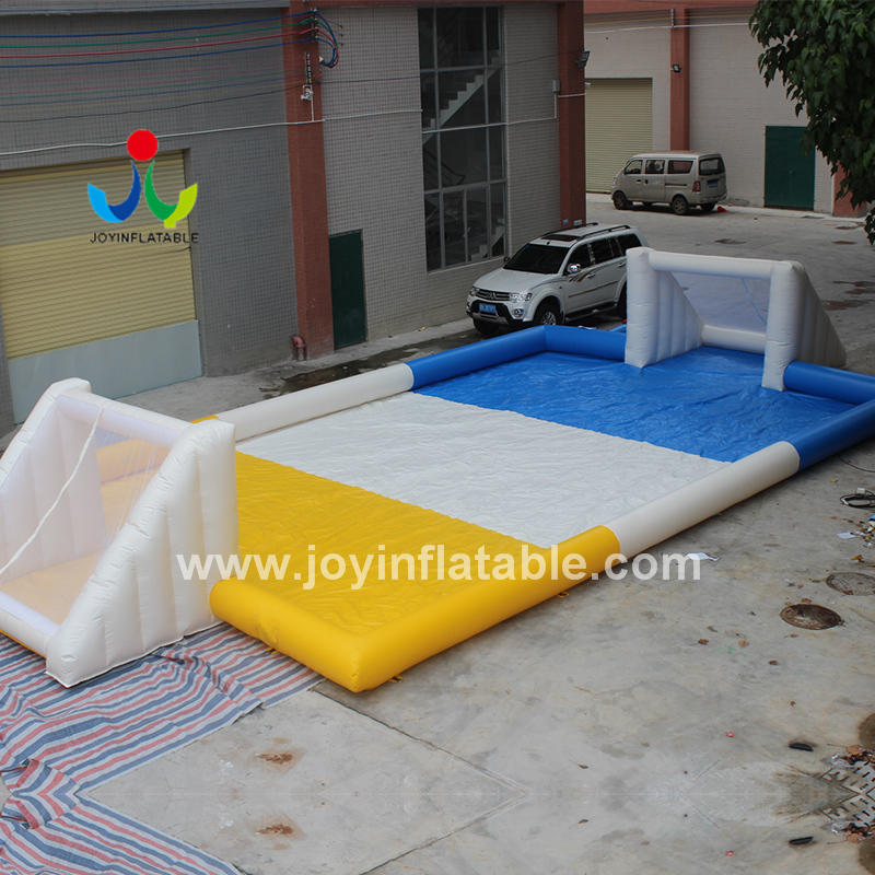 Customized Inflatable Water Soap Soccer Field For Adult