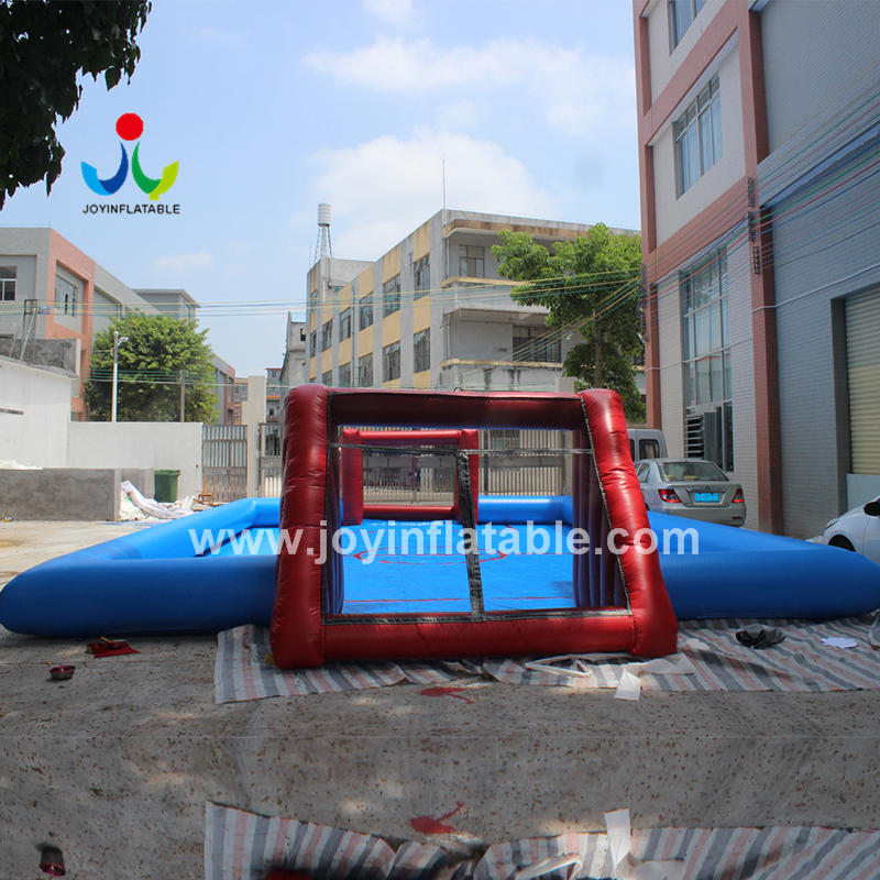 Movable Outdoor Sport Games Arena Football Soap Court For Sale