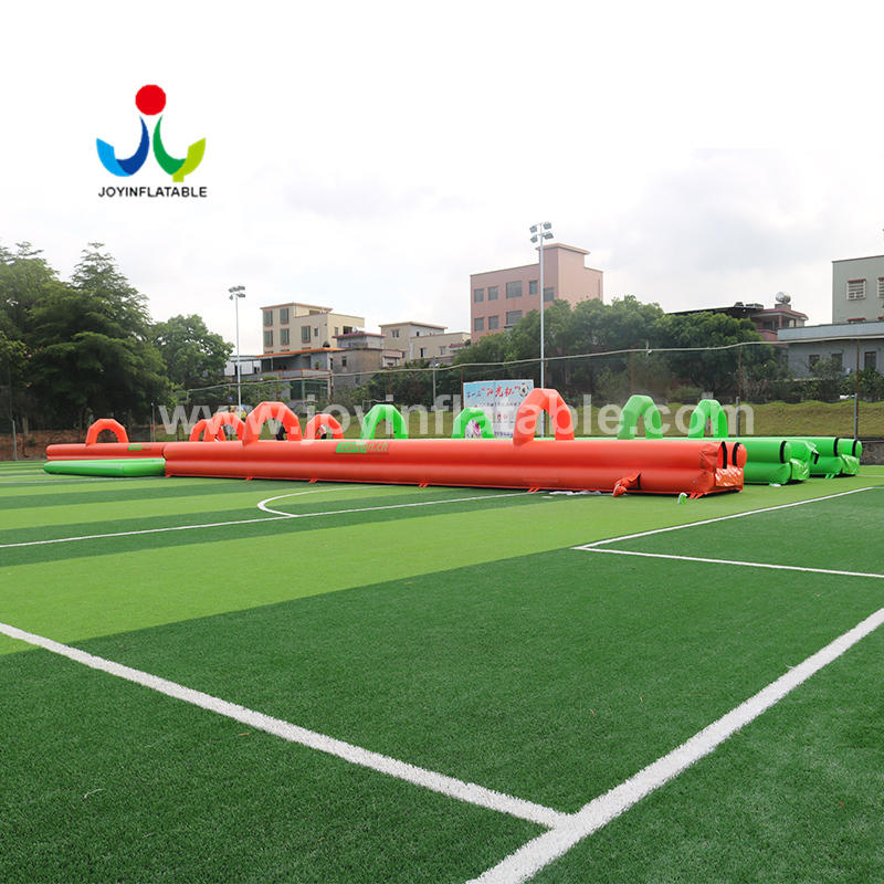 107 Meter Long Inflatable Water Slide For The Street