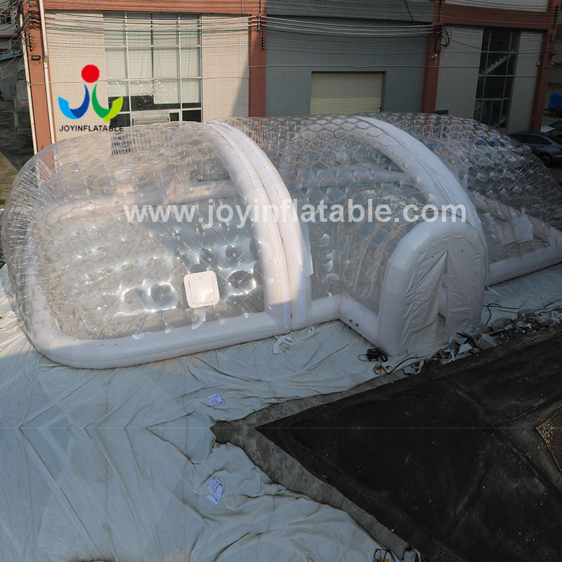 Inflatable Airtight Ground Swimming Pool Cover Tunnel Tent With Air Pump