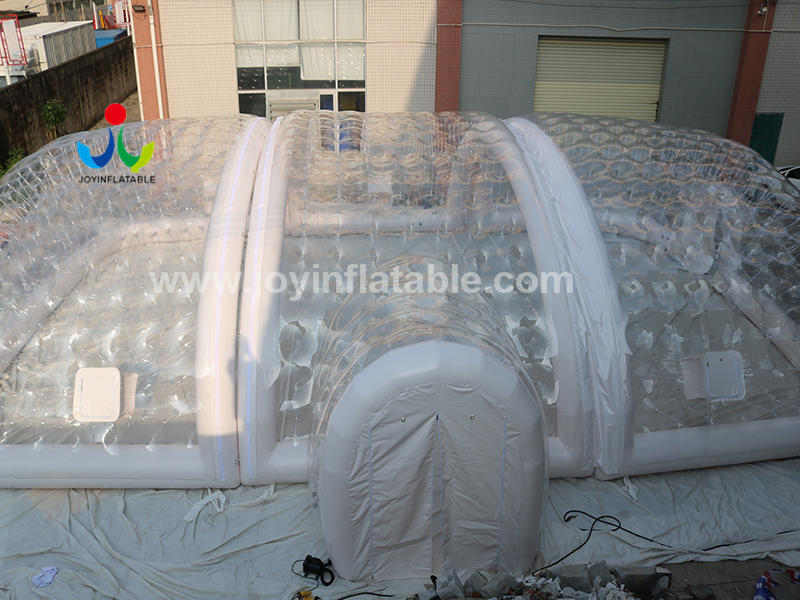 Inflatable Airtight Ground Swimming Pool Cover Tunnel Tent With Air Pump Video