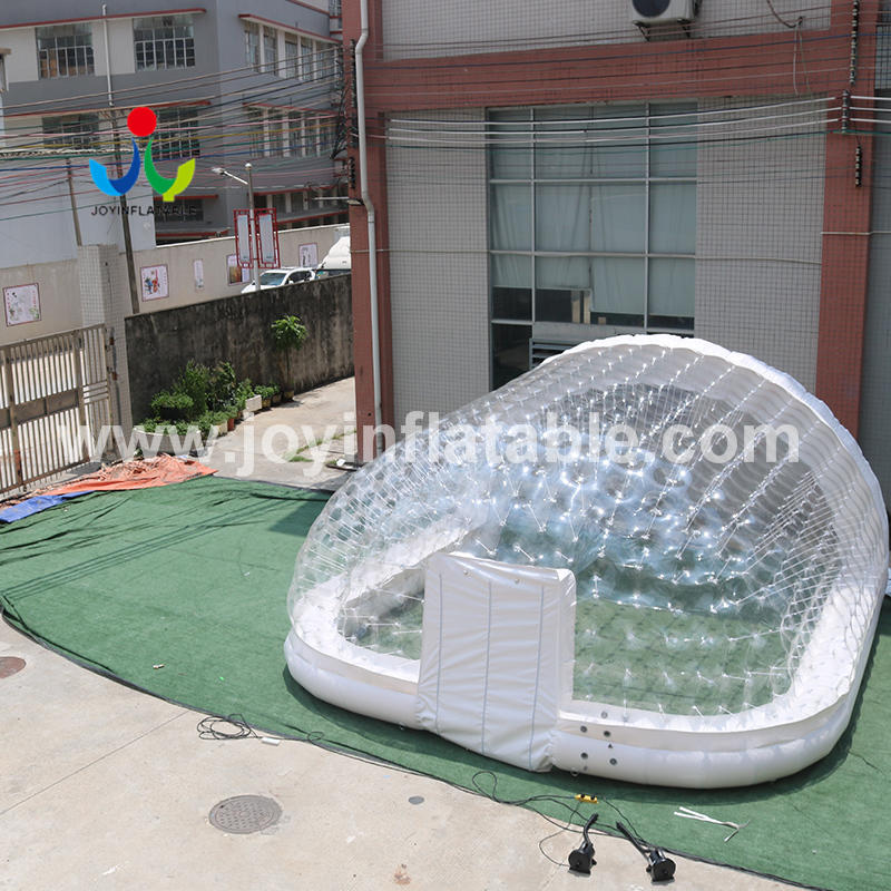 Transparent Inflatable Marquee For Swimming Pool