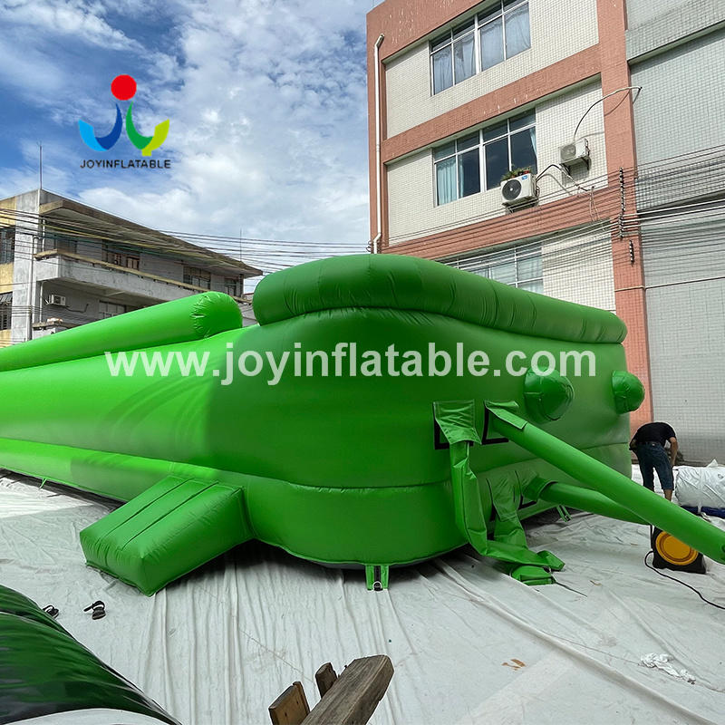 Inflatable Airbag For Dirt Bike Training