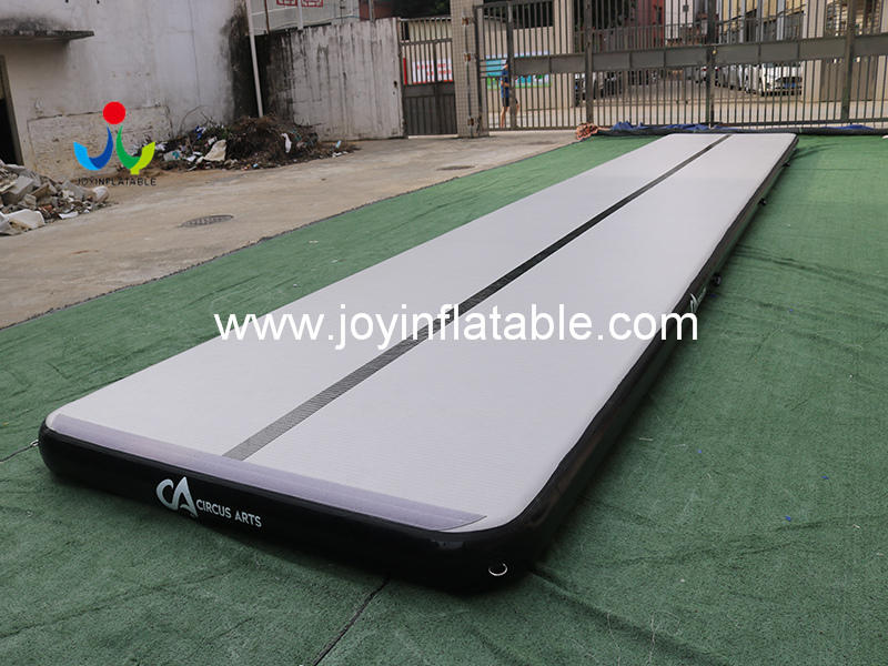 Yoga Tumble Inflatable Gymnastic Air Track Mattress for sale Video