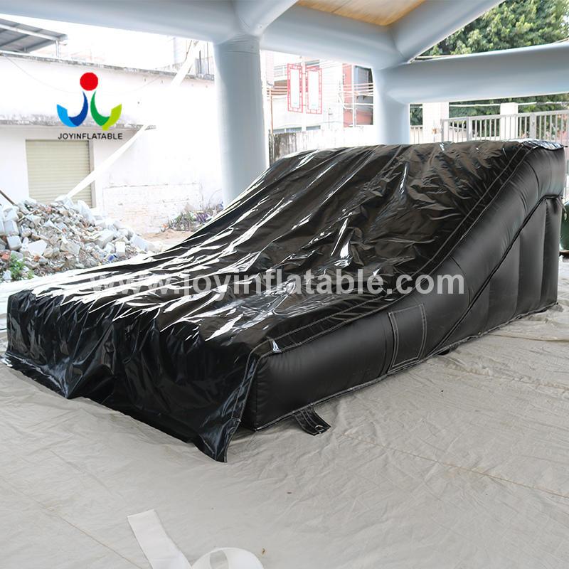 Inflatable MTB Airbag Lander