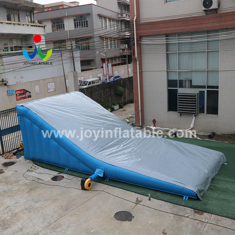 Slope Style Inflatable Jumping For Extreme MTB  Sports