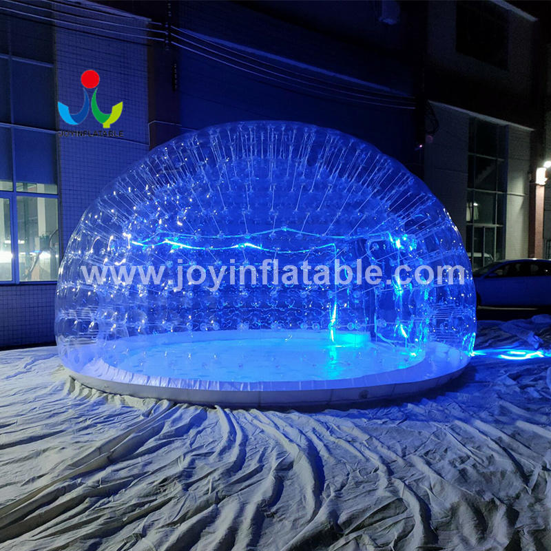 Outdoor Inflatable Transparent Bubble Dome House  For Family Birthday Party