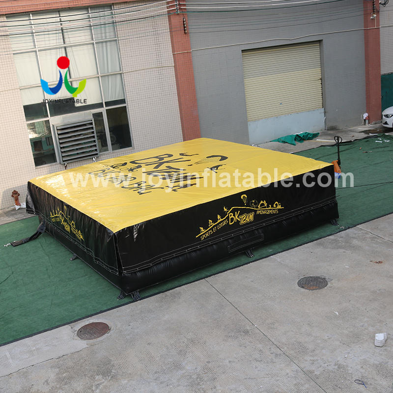 Outdoor Snow Park Inflatable Airbag for Freefall Jump Landing