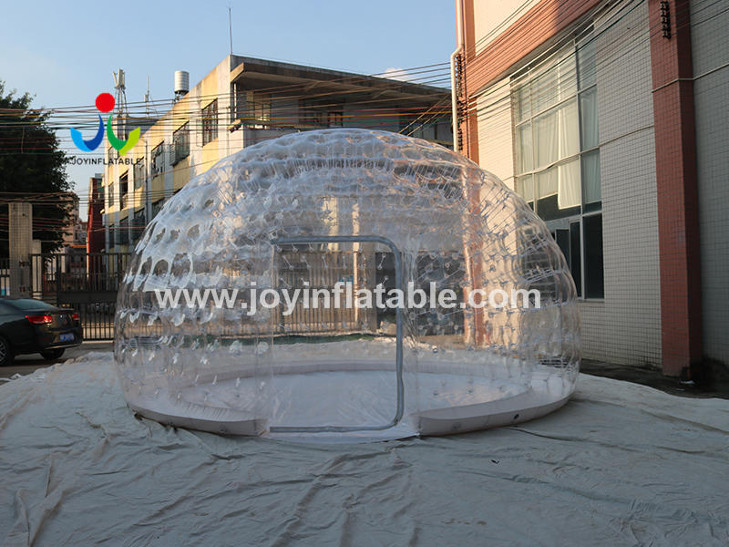 Led Light Igloo Transparent Dome Clear Bubble Inflatable Tent Video