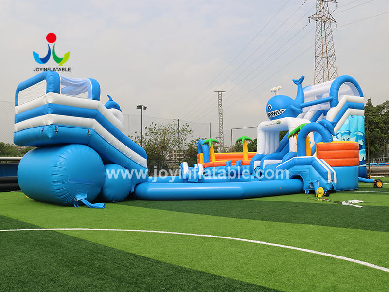 Commercial Grade Wet Inflatable Giant Water Slides With Factory Price Video