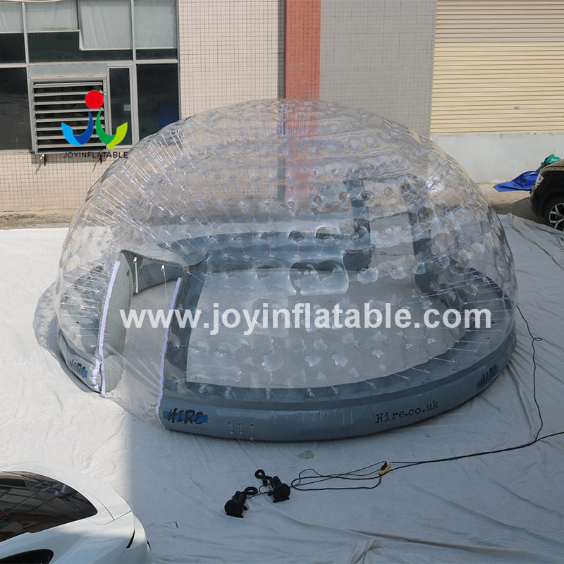 Customized Outdoor Camping Transparent Dome Inflatable Clear Bubble Tent