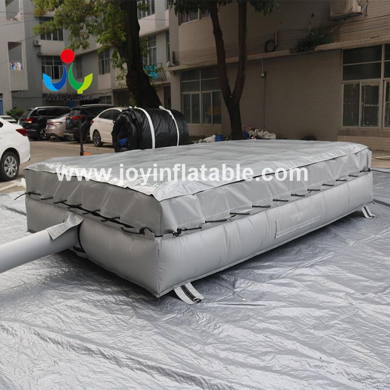 Inflatable Air Bag Lander For Acrobatic Mini Trampoline Practicing