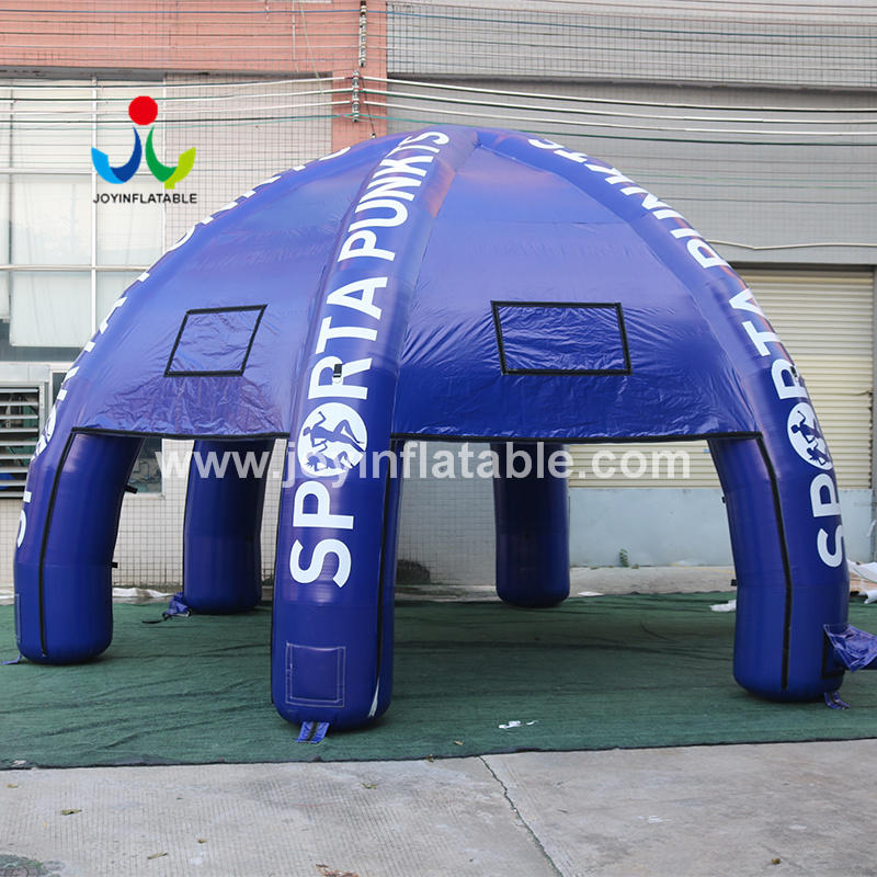 Inflatable Lawn Advertising Spider Dome Tent For Event
