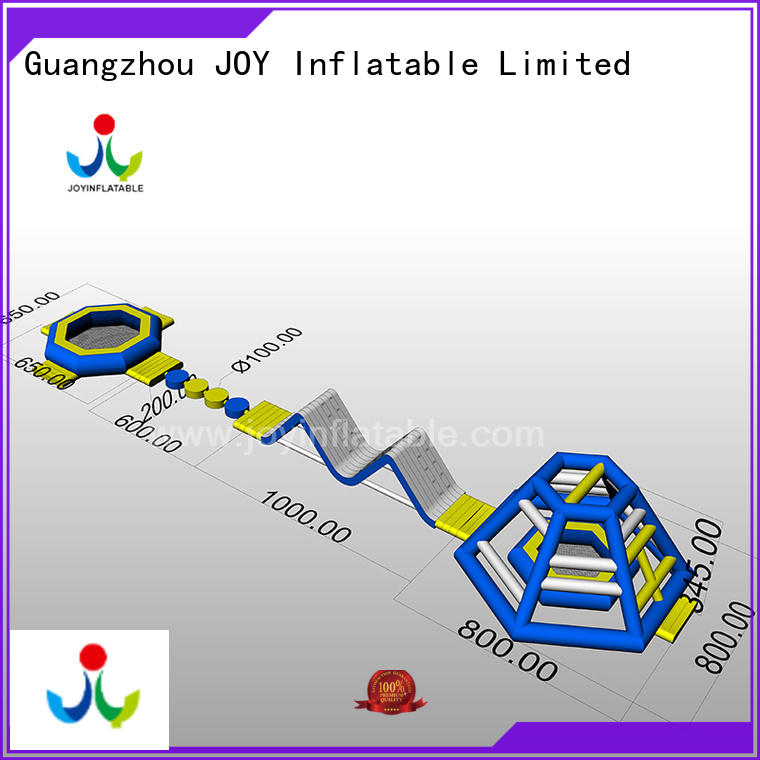 JOY inflatable equipment floating water trampoline with good price for outdoor