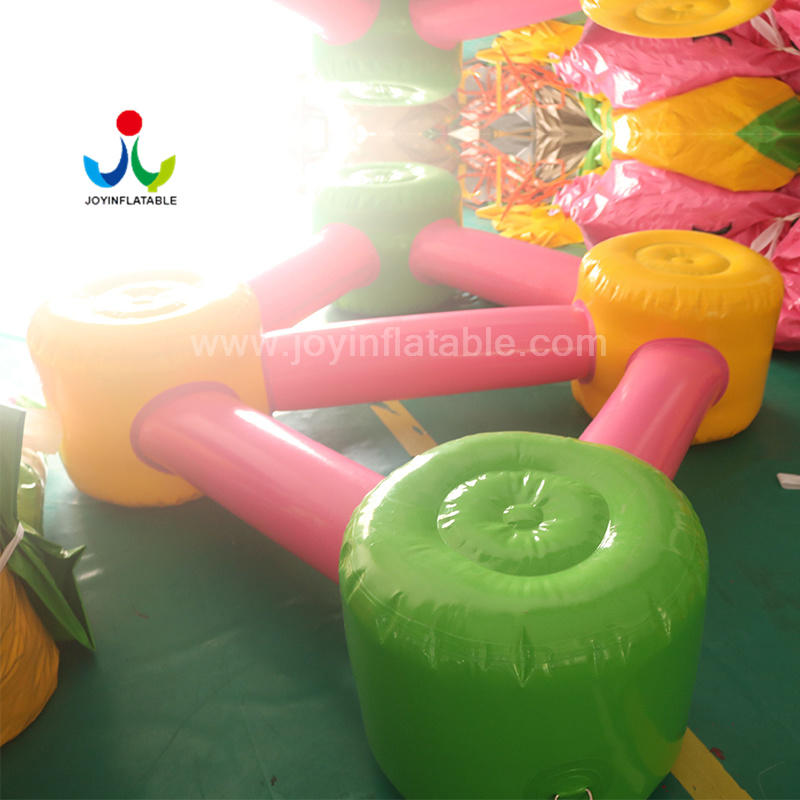 JOY inflatable inflatable lake trampoline factory price for outdoor-3