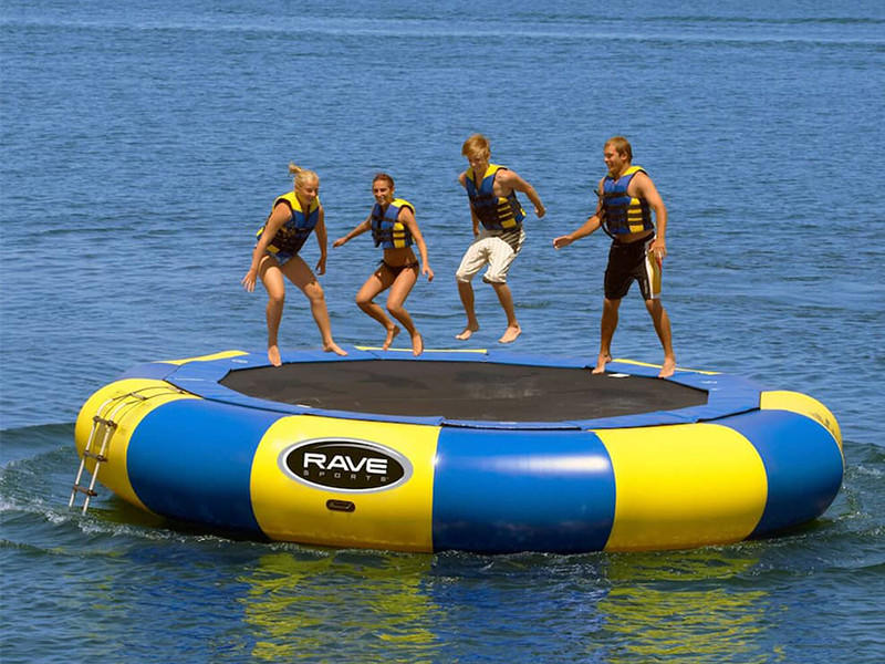 JOY inflatable action inflatable water park for lake for outdoor-2