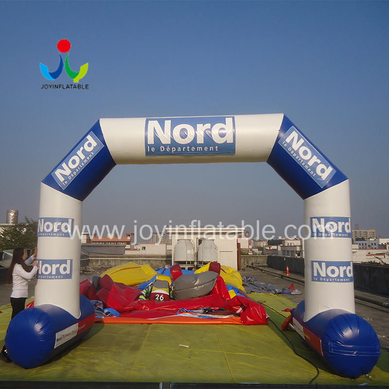 start inflatable race arch supplier for outdoor-1