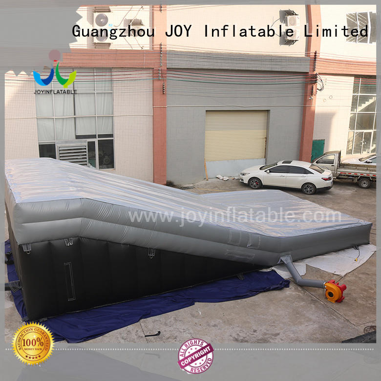 JOY inflatable king jumping cushion for outdoor