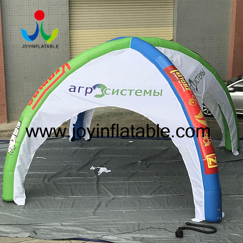 4 Legs Promotional Event Spider Inflatable Tent  Cross Tent-2