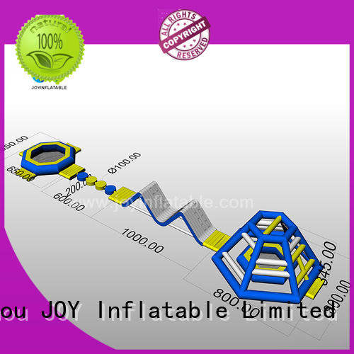 JOY inflatable floating water trampoline design for outdoor