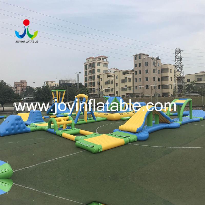 JOY inflatable inflatable lake trampoline design for kids-1