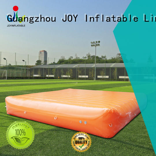 JOY inflatable stunt mat from China for kids