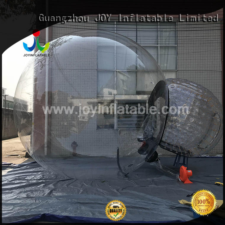 toy inflatable transparent tent personalized for children
