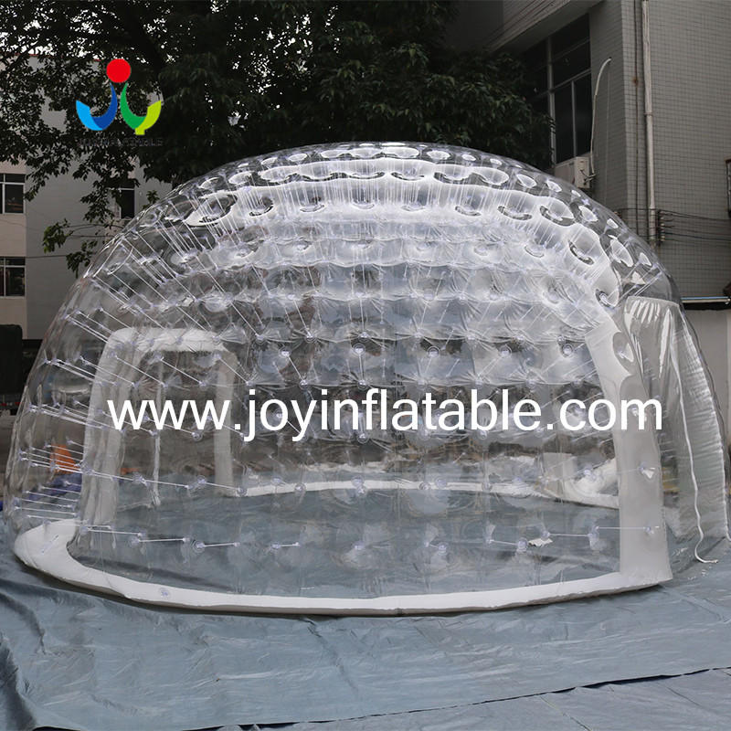 0.8mm Clear PVC Inflatable IglooTent For Outdoor Event-1