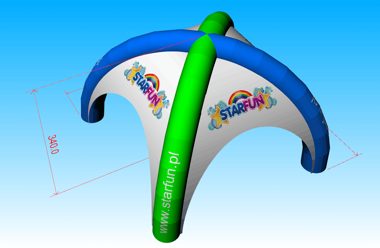 JOY inflatable trade blow up tent inquire now for outdoor-3