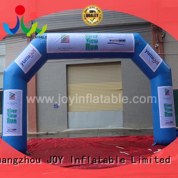 JOY inflatable inflatable race arch factory price for kids